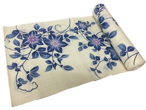 Japanese yukata fabric(chinese bellflowers)
