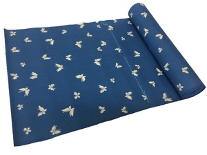 Japanese yukata fabric(buttflies)(Special brown fabric)