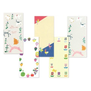 Beni Hirose Mino‐washi Japanese Paper One-stroke Note - My Favorite