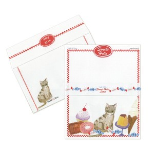 Violet & Claire Sumire Taya Writing Stationery Paper with Envelopes  - Sweets Holic Letter