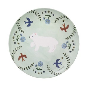 Plate and set Bear