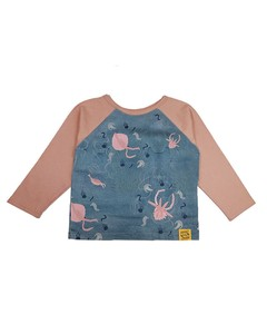 Toddler Kids Long Sleeve T-shirt Cut And Sewn
