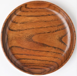 Wood Grain Plate Wooden Plate