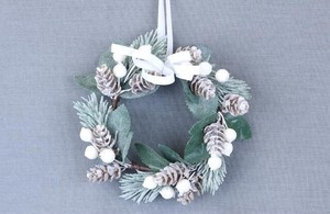 White Pine Corn Wreath