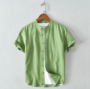 Shirt Dress Shirt S/S Thin Casual Short Sleeve Shirt