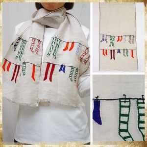 S/S Countermeasure Colorful Socks Embroidery Socks Embroidery Stole