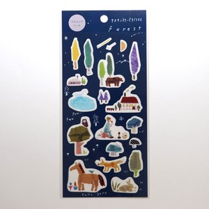 Masking Sticker Forest