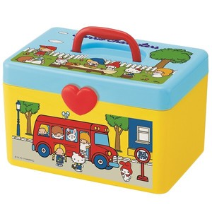Storage Handle Attached Box Sanrio Character