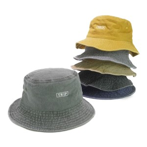 Box Embroidery Cotton BUCKET HAT Young Hats & Cap