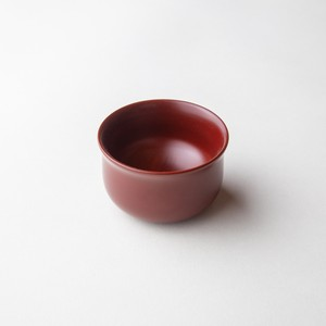 "Ancient ""Akane"" lacquer  Sake Cup made of horse chestnut - Round shape"