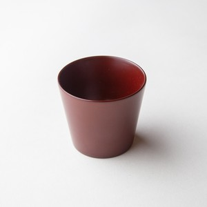 "Ancient ""Akane"" lacquer Sake Cup -Japanese cherry birch"