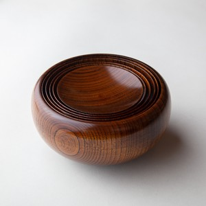 """Ouryouki"" Buddha bowl of Zen sect with rubbing lacquer"
