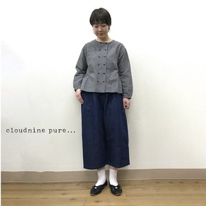 Gigging Cotton Button Blouse