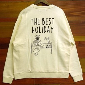 Print Long Sleeve Sweat