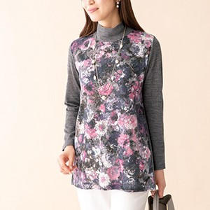 Floral Pattern Print Tunic