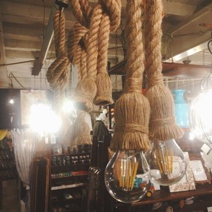 Rope Lamp Double