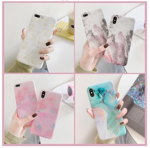 iPhone7 iPhone Case Marble Smartphone Case Portable Cover Marble
