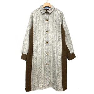 cocora Knitted Shirt Coat