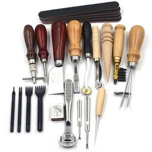 18 Pcs Set Leather Craft Tool Kit