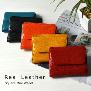 Cow Leather Leather type Square Wallet Leather