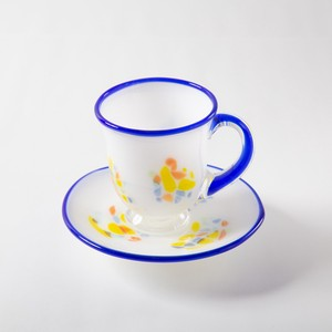 Saucer & Cup - Set of 2, Blue