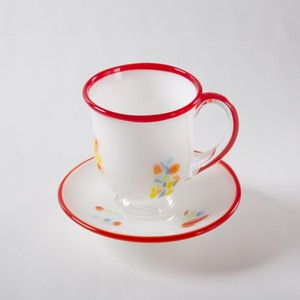 Saucer & Cup - Set of 2, Red