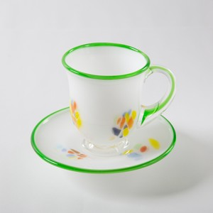 Saucer & Cup - Set of 2, Green