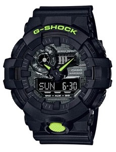 【特価】カシオG-SHOCK海外モデル  「Black and Yellow Series」GA-700DC-1A