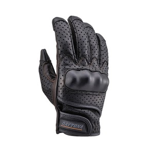 Skin Punching Mesh Glove Type Smartphone Black Brown