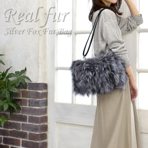 Reserved items [ 2020NewItem ] Fox Fur Bag Shoulder Bag Fur Pouch Clutch Bag Fur