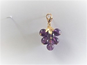 Grape Shine Muscat Mask Charm
