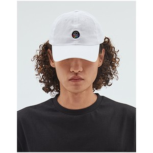 Cap One Point White Cotton Hats & Cap Unisex
