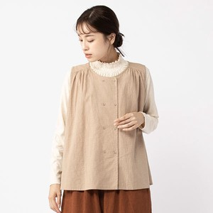 peniphass Double Button Gather Vest