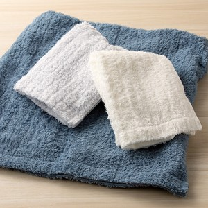 Imabari Face Towel Bathing Towel Gray White Blue