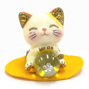 [ 2020NewItem ] Ornament Feng Shui Happy Cat Angel Beckoning cat