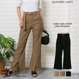 [ 2020NewItem ] Stretch Front Flare Pants