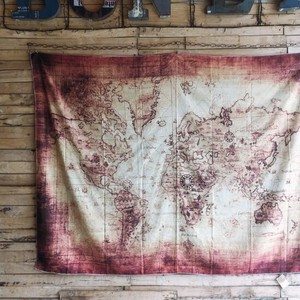 Map Tapestry Type [ 2020NewItem ]