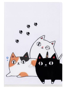 Neko Sankyodai Plastic Folder Pocket