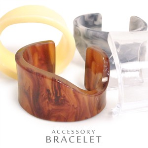 MAGGIO Marble Wide Bangle Bracelet