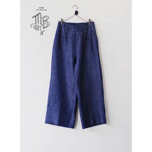 LINEN DENIM pants