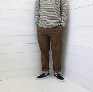 Stretch Light Twill Tuck Pants