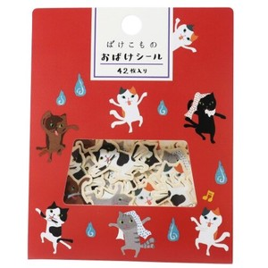 Sticker Nekomata Apparition Ghost Mini Sticker Set Quail