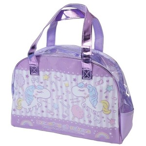 Unicorn Vinyl Overnight Bag