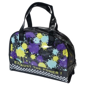 Ink Vinyl Overnight Bag