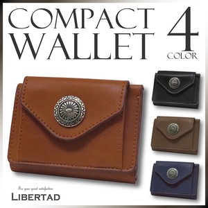 S/S Compact Wallet Trifold Wallet Leather Men's Ladies Fancy Goods