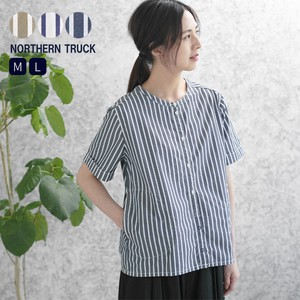Rack Non-colored Stripe Shirt Ladies