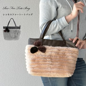 [ 2020NewItem ] Rex Fur Bag Flower Real Fur Genuine Leather Bag Rabbit Fur