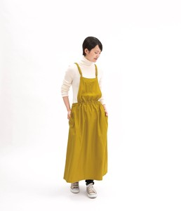 Reserved items Release Waist Gather One-piece Dress Apron