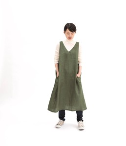 Reserved items Release Linen One-piece Dress Apron
