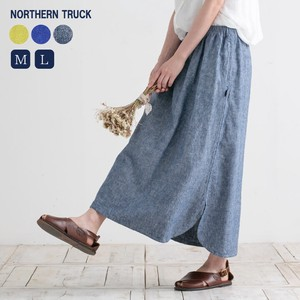 Rack Round Skirt Cotton Linen